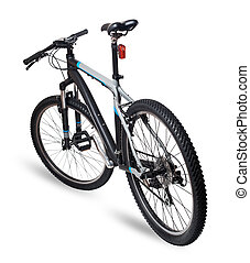 hegy, bicikli, bicikli, white, háttér