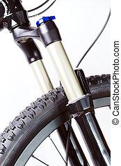 hegy bicikli, felfüggesztés villa