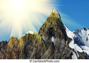 hegy csúcs