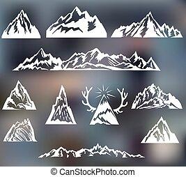 hegyek, állhatatos