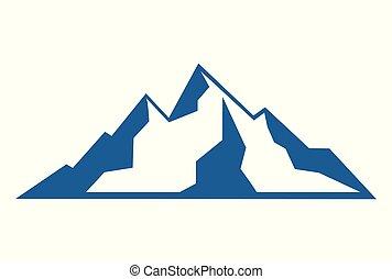 hegyek, elvont, jel