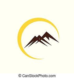 hegyek, jel
