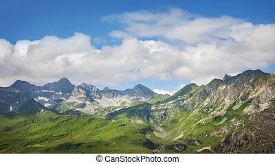 hegyek, táj