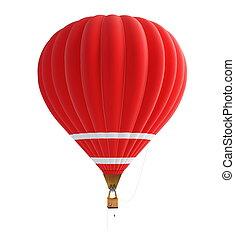 heiß, balloon, luft
