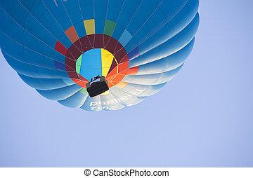 heiß, himmelsgewölbe, balloon, luft