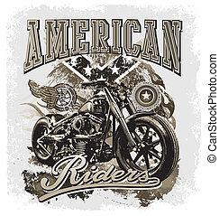heißer rod, amerikanische , mitfahrer
