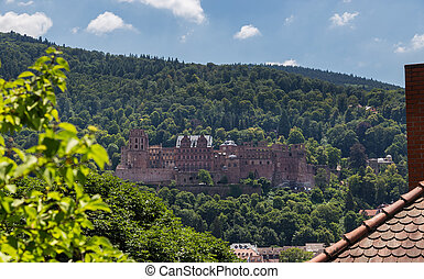 Heidelberg Castle Baden-Wurttemberg Germany.