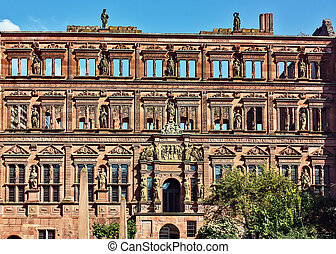 Heidelberg Castle, Germany - Heidelberg Castle is a famous...