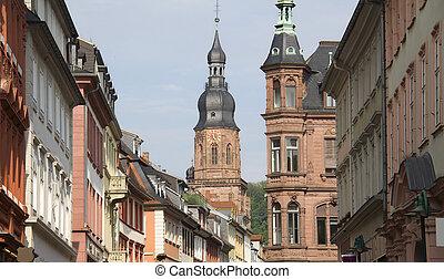 heidelberg, duitsland, geest, heilig, kerk