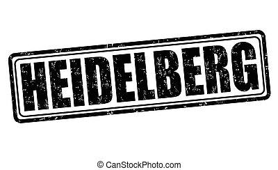Heidelberg grunge stamp