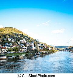 heidelberg, stad, oud, duitsland