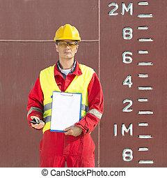 Height of a docker