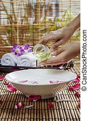 heilbadbehandlung, massage
