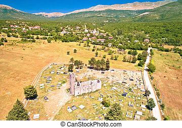 heilig, cetina, ruinen, historisch, kirche, rettung