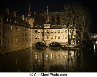 Heilig Geist Spital Nuremberg Germany
