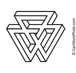 heilig, geometry., shapes., lijnen, vrijstaand, illustratie,...