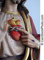 heilig hart, van, jesus