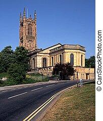 heiligen, alles, derby, kathedraal, uk