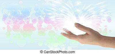 heilung, hand