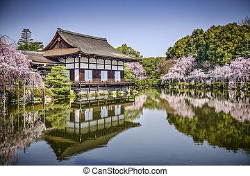 Hein Shrine - Kyoto, Japan gardens at Heian Shrine.