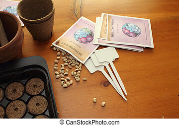 Heirloom Seeds ready for planting