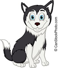 heiser, hund, karikatur