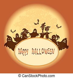 heks, halloween, landscape
