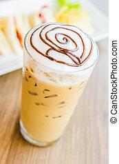 helado, mocha, café