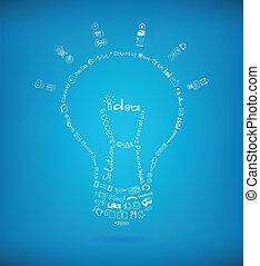 helder, concept, idee