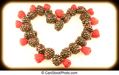 helder, fruit, hart