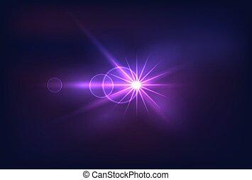 helder, ultraviolet licht, vector, kleurrijke, blauwe , abstract ontwerp, het glanzen, achtergrond, element, barsten, icon., vrijstaand