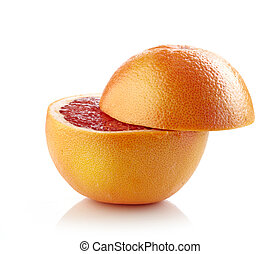 helft, fris, grapefruit