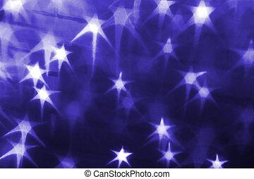 helgdag, bakgrund, med, stjärnor