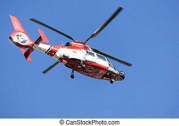 helicóptero, marítimo