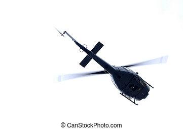helicóptero, materiais