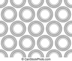 Helical gear pattern - Seamless pattern of the helical gears
