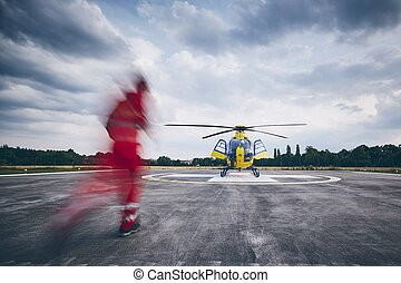 Helicopter emergency medical service