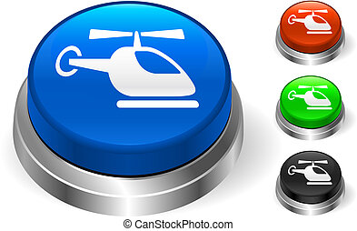 Helicopter Icon on Internet Button