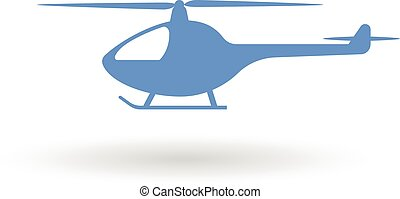 helicopter  icon sign symbol design element