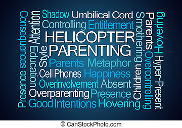 Helicopter Parenting Word Cloud