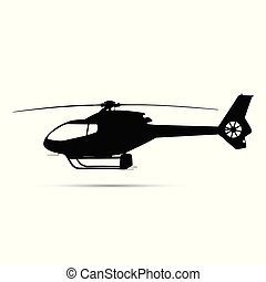 helikopter, árnykép