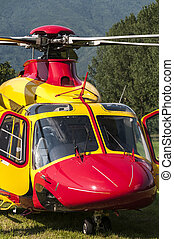 helikopter, kiszabadítás, szükséghelyzet