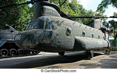 helikopter, museum, overschotten, oorlog
