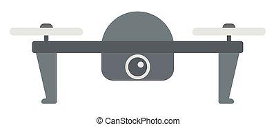 helikopter, vliegen, fototoestel