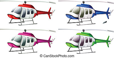 helikopterek, csoport