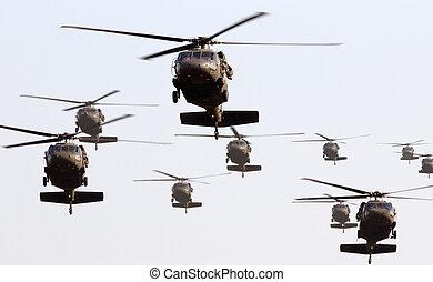 Helikoptrar