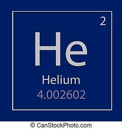 Tabla icon peridico helio elemento vector illustration helio l qumico elemento icono urtaz Images