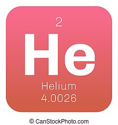 Helium chemical element periodic table science symbol stock helium chemical element urtaz Choice Image