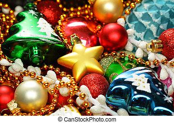 hell gefärbt, weihnachtsdeko, hintergrund