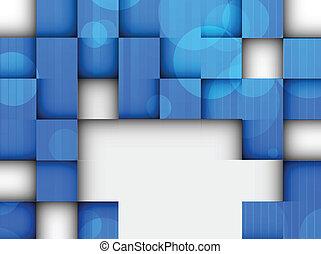 hell, hintergrund, mit, quadrate